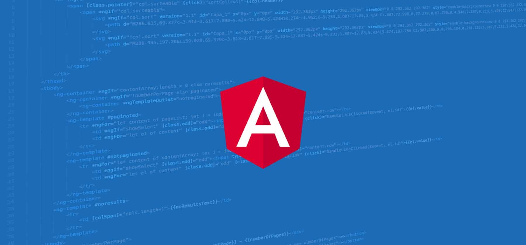 Curso de programación en Angular
